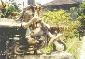 Werner-Sculpture on Bali